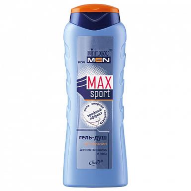 Гель-душ для мытья волос и тела для мужчин «Тройной эффект»