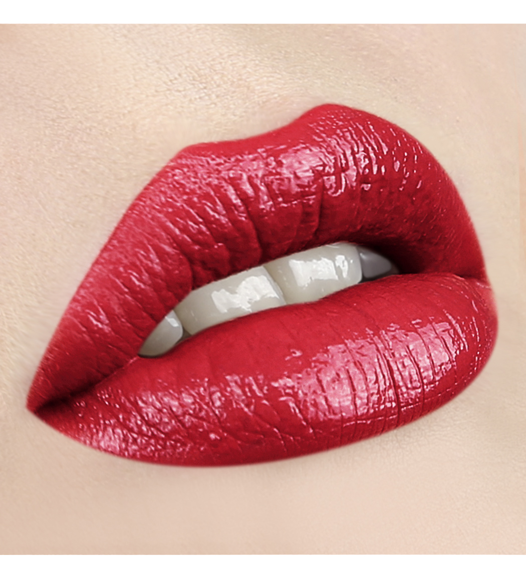 LUXVISAGE-65 холодный красный с глянцевым блеском