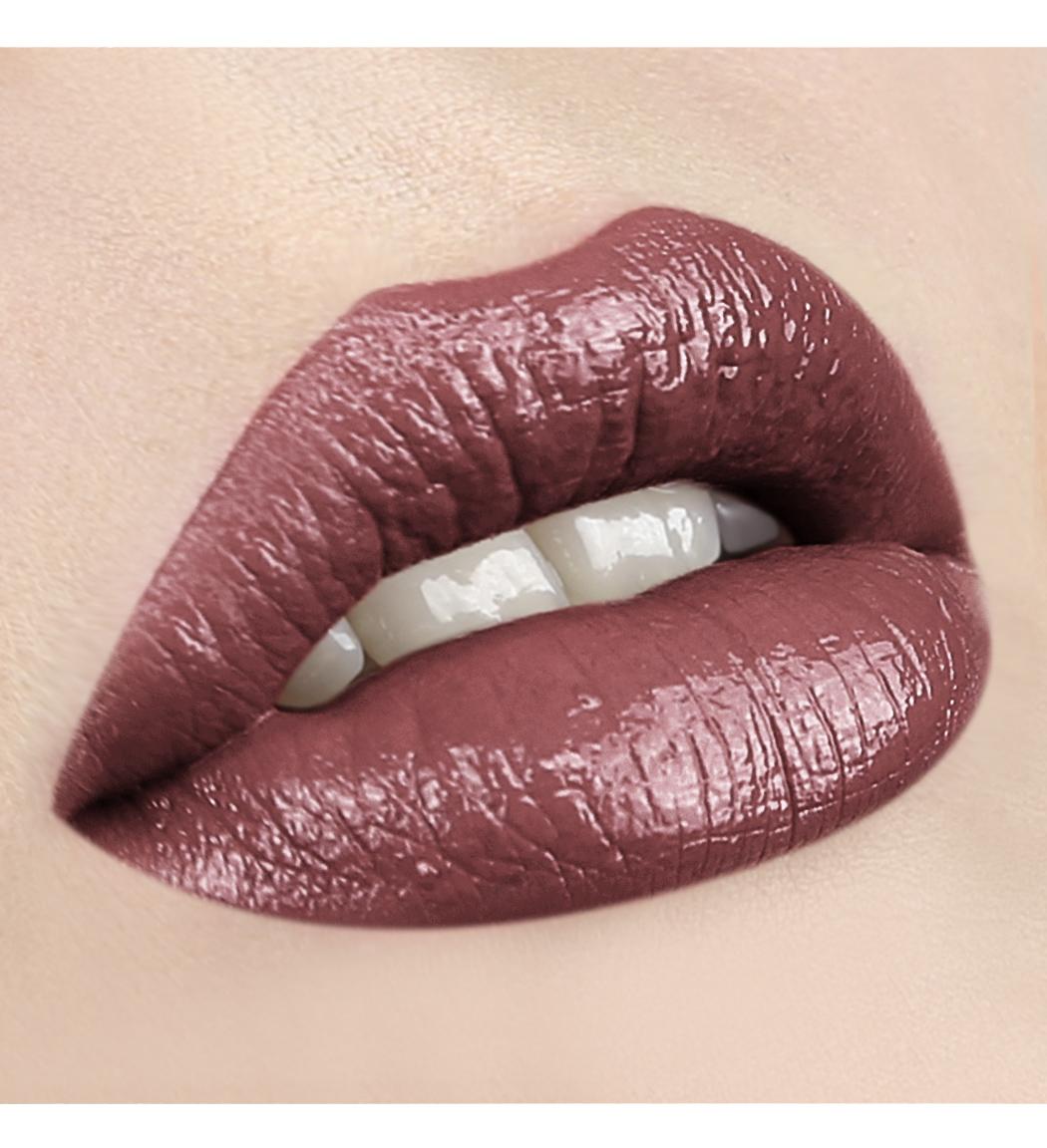 LUXVISAGE-69 коричнево-лиловый с жемчужным перламутром