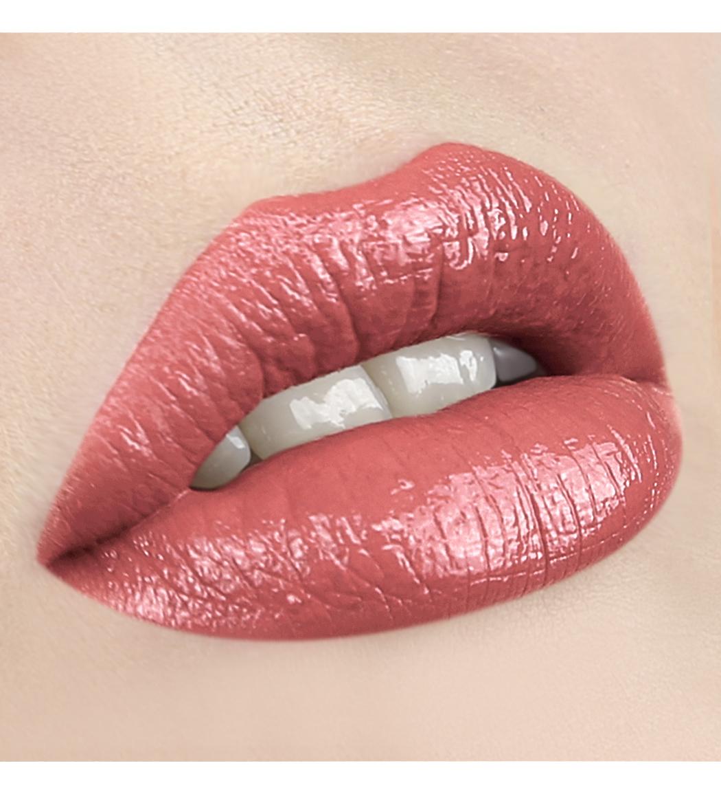 LUXVISAGE-73 розово-коралловый с жемчужным перламутром